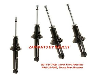 Set of 2 Rear Pair KYB Struts Shocks Suspension For 1994 for SENTRA Limited