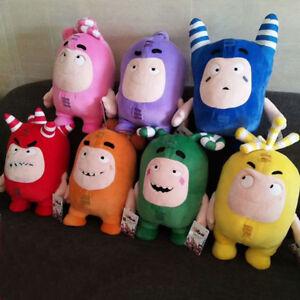 Oddbods-30cm-Plush-Soft-Cuddly-Toy-Newt-Bubbles-Pogo-Zee-Jeff-Fuse-Slick-Plush
