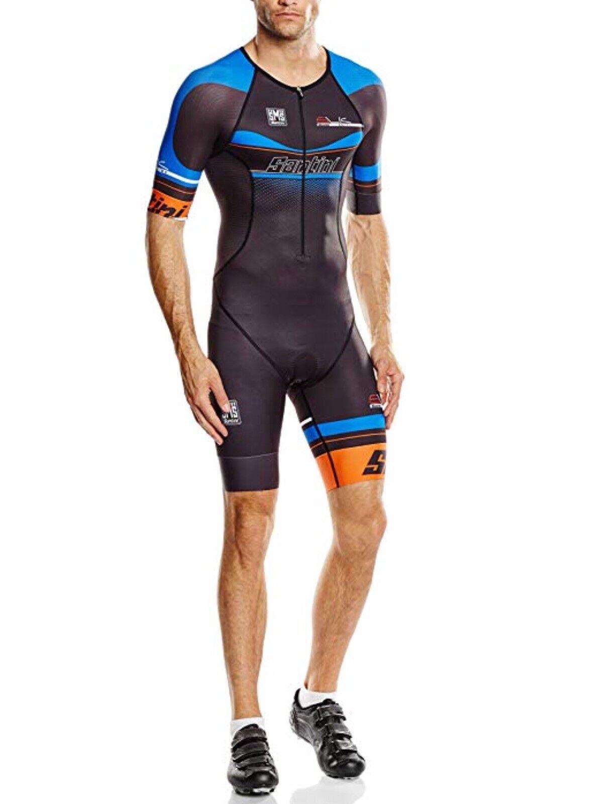 SANTINI SANTINI SANTINI elegante 2.0 Uomini Triathlon Body con taglio anatomico, Blu, XXL 5df268