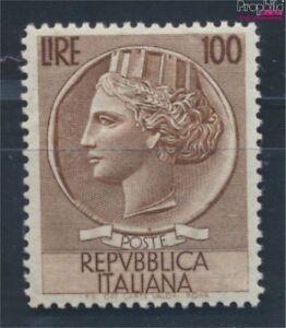 Italien-920A-Wasserzeichen-Fluegelrad-postfrisch-1954-Italia-7715350