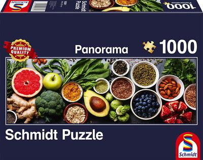 1000 Teile Schmidt Spiele Puzzle Panorama Auf dem ...