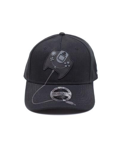 Parche De Goma Oficial SEGA DREAMCAST CONTROLLER Negro Gorra De Béisbol Cap