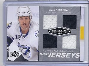 2010-11-UPPER-DECK-BLACK-DIAMOND-RYAN-MALONE-UD-JERSEY-QUAD-LIGHTNING