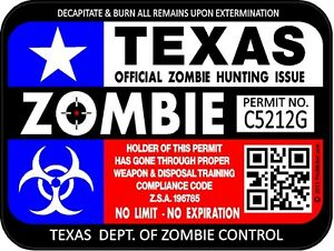 Texas Flag Zombie Hunt...