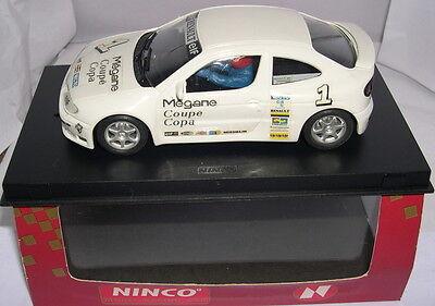 Kinderrennbahnen Spielzeug Purposeful Ninco 50144 Renault Megane Glas #1 Weiß White Mb