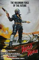 Mad Max Movie Poster - Mel Gibson Poster : 11 X 17 Inches - Mad Max Poster