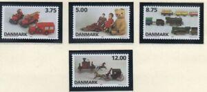 Denmark-Sc-1037-40-1995-Toys-stamp-set-mint-NH