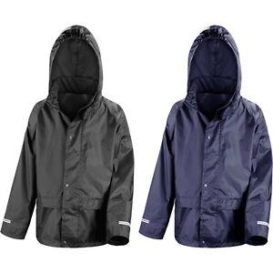 799d96ee0762 Kid Children Junior Result Core StormDri Waterproof Rain Jacket Coat ...
