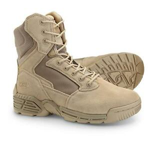 386c54b0b9f Details about Men's Magnum Stealth Force 8.0 Desert Tan Boots 5038 Sizes  7-7.5 M