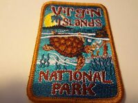 Souvenir Patch Saint Thomas Virgin Islands Embroidered Sew-on Palm Trees 634