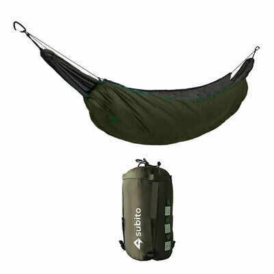 230cm Hammock Lightweight Camping Sleeping Bag Underquilt Under Blanket Winter
