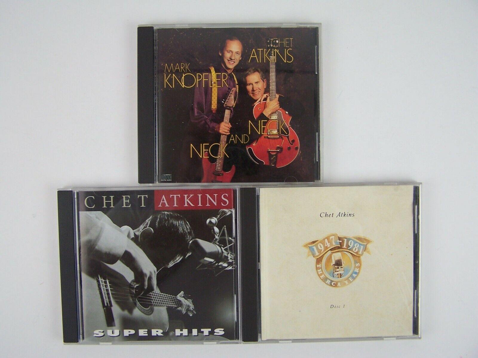 Chet Atkins 3xCD Lot #2