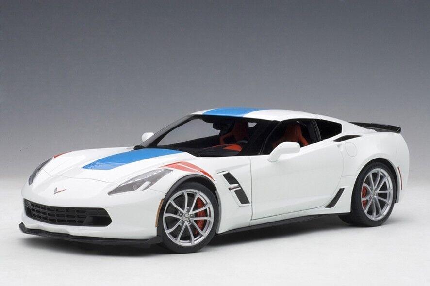 AUTOART 71271 - 1 18 CHEVROLET Corvette c7 Grand Sport-Arctic blanc-Neuf