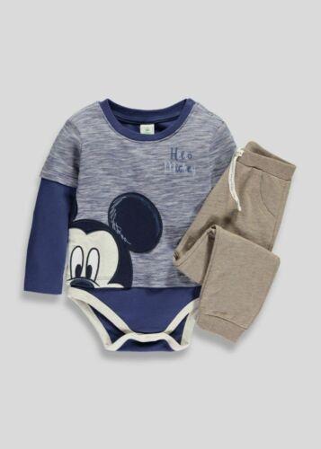 Disney Mickey Mouse Garçons Vêtements Pantalons Pyjama court Tops ensembles Chaussures Sandales Set