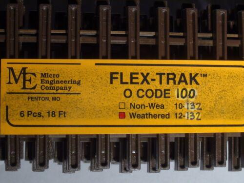 O-SCALE MICRO-ENGINEERING #12-132 FLEX-TRACK CODE 100 WEA BIGDISCOUNTTRAINS