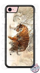 Exotic-Bengal-Tiger-Cub-amp-Mommy-Design-Phone-Case-for-iPhone-Samsung-Google-etc