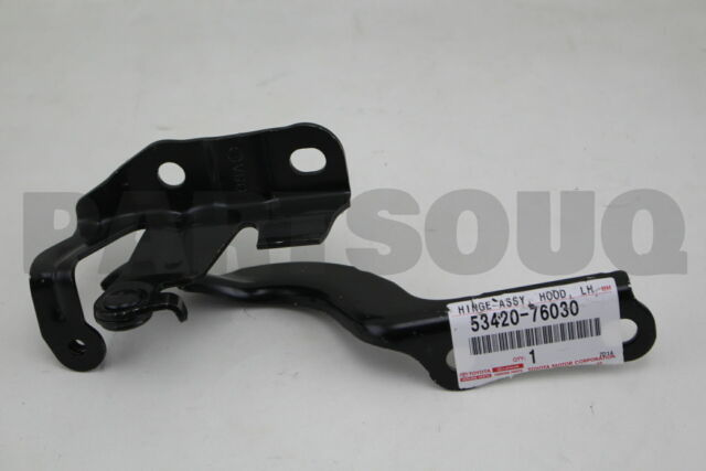 11-17 GENUINE LEXUS 5342076030 CT200h HOOD HINGE LEFT 53420-76030 !