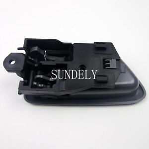 New grey color left inside door handle for toyota camry - 2002 toyota camry interior door handle ...