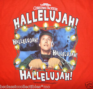 Christmas Vacation Hallelujah.Details About National Lampoon S Christmas Vacation T Shirt Clark Hallelujah Size Lg 2xl New
