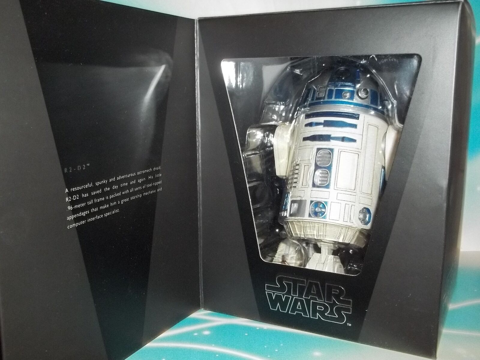 Star wars medicom japanese high detail 12  1/6 scale 2010 r2-d2 figure -in USA