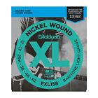 D'Addario EXL158 Nickel Wound 13-62 Baritone Electric Guitar Strings