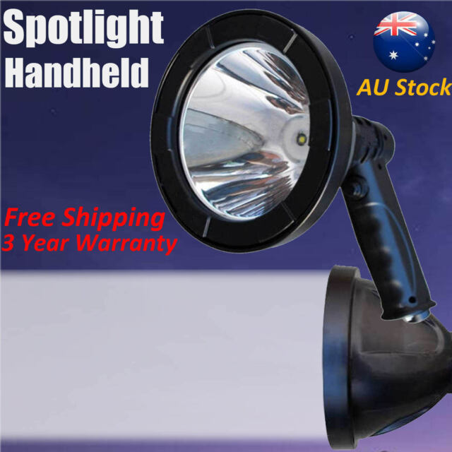 HUNTER 420W SPOTLIGHT CREE LED Handheld Work Search Spot Light 12v Plug AU STOCK