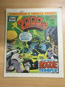 2000AD-Prog-237-7-Nov-1981-GB-Grand-Papier-Bd-Judge-Dredd