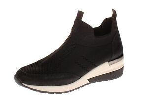 Details zu La Strada 1901764 Damen Schuhe Freizeitschuhe 4501 black knitted