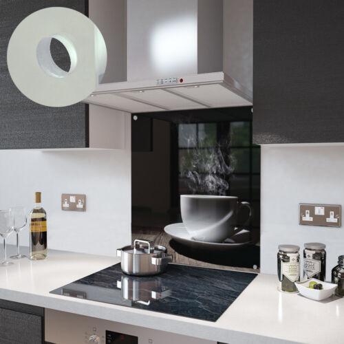 Blanco Vidrio sencillo y accesorios de taza de café-hecho por Premier Range
