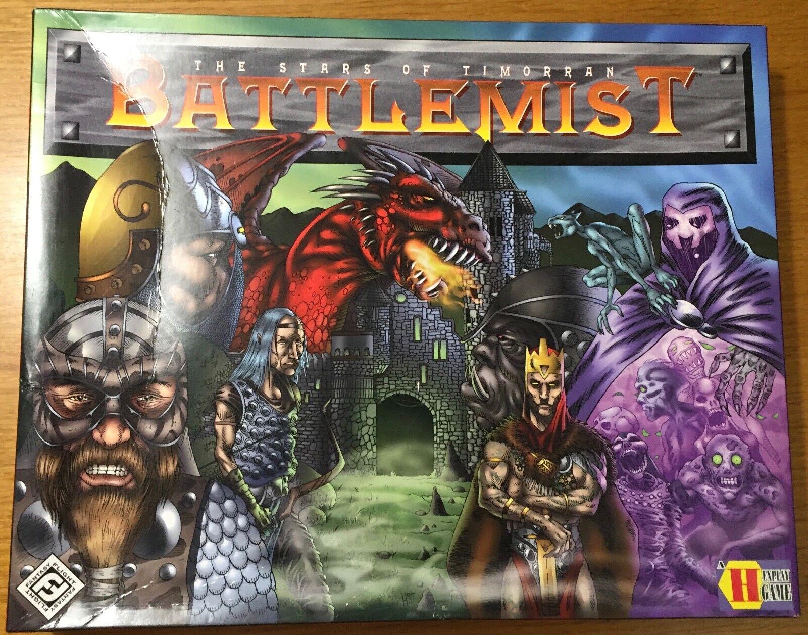 Battlemist - Fantasy Flight Games 2001 - mai usato - UNPUNCHED
