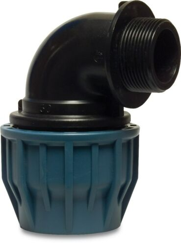 Reductor de compresión de Tipo Plasson Carpintero para MDPE pipa de agua 20mm a 110mm