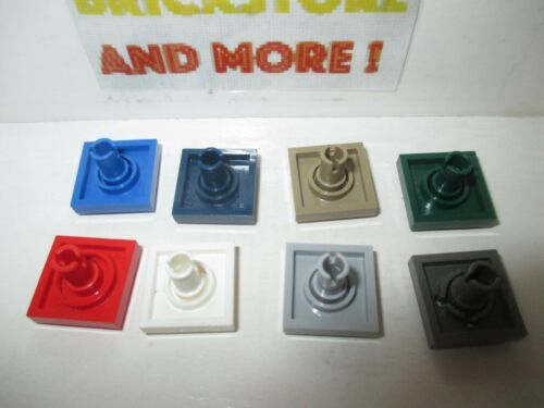 Plaque Plate Modified 2x2 Pin on Bottom 2476 Choose color and quantity Lego