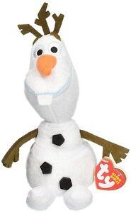 1x Official Olaf Snowman Stuffed Plush Doll Ty Beanie Babies Disney Movie  Frozen 12bdbd911c2