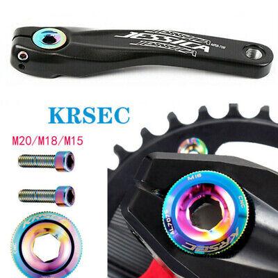 Crankset Crank Chainring Hexagon Cap Bolt KRESC 15//18//20 Fit Shimano//SRAM//FSA