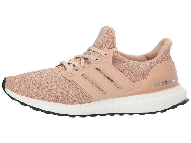 241cf915367 New ADIDAS Ultra Boost Womens Ash Pearl Champagne Pink White Peach 10 US