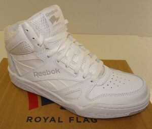 925fe3cc41d0 Reebok Royal BB4500 HI Men s Basketball Shoes M42661 White NWD Size ...