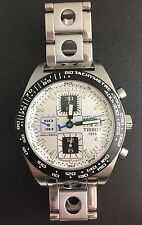 TISSOT PRS 516 AUTOMATIC VALJOUX CHRONOGRAPH 25J TACHYMETRE SWISS 42MM WATCH