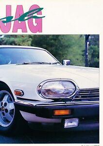 Image Is Loading 1985 1992 Jaguar XJS Chevy V8 Conversion Original