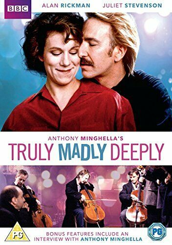 Truly, Madly, Deeply [DVD] [2018][Region 2]