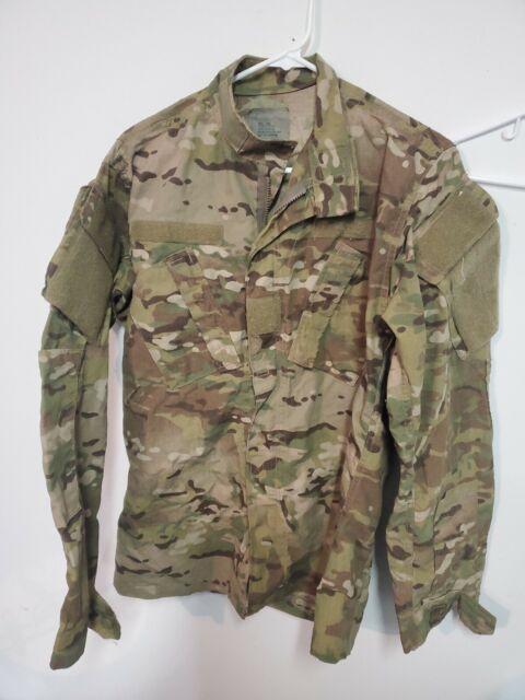 USGI Army Combat OCP ACU Jacket Top Multi Cam Medium Regular USA SURPLUS