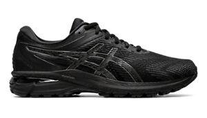 Details zu Asics GT 2000 8 2E WIDE Men Farbe: BLACKBLACK Laufschuhe extra breit