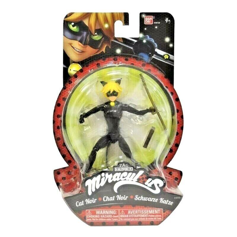 "Miraculous Tales of Ladybug /& Cat Noir ~ 5.5/"" LADYBUG ACTION FIGURE ~ Bandai"
