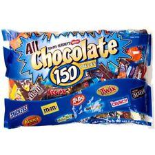 5+ LBS BIG CHOCOLATE Candy bag 150 bars Hershey's Nestle Reeses M&M's Kit Kat