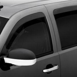 For Buick Encore 14-19 Window Deflectors Tape-On Standard Ventvisor Smoke Front