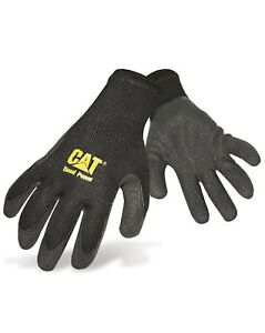 CAT-Caterpillar-Latex-Palm-Gloves-Cotton-String-Durable-Mens-Work
