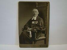 Orig. Foto Divisionspfarrer Büttel mit Ordenspange 1916 Schleswig