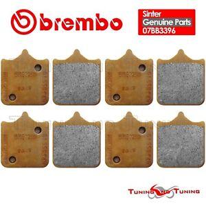 8 PASTIGLIE FRENO ANTERIORI BREMBO SINTERIZZATE TRIUMPH SPEED TRIPLE 1050 2011