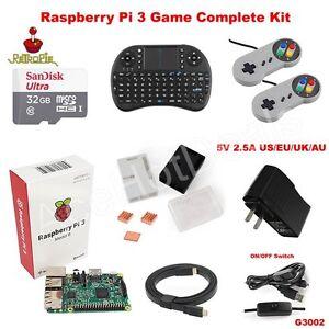 Raspberry-Pi-3-Model-B-Retro-Game-Kit-G3002