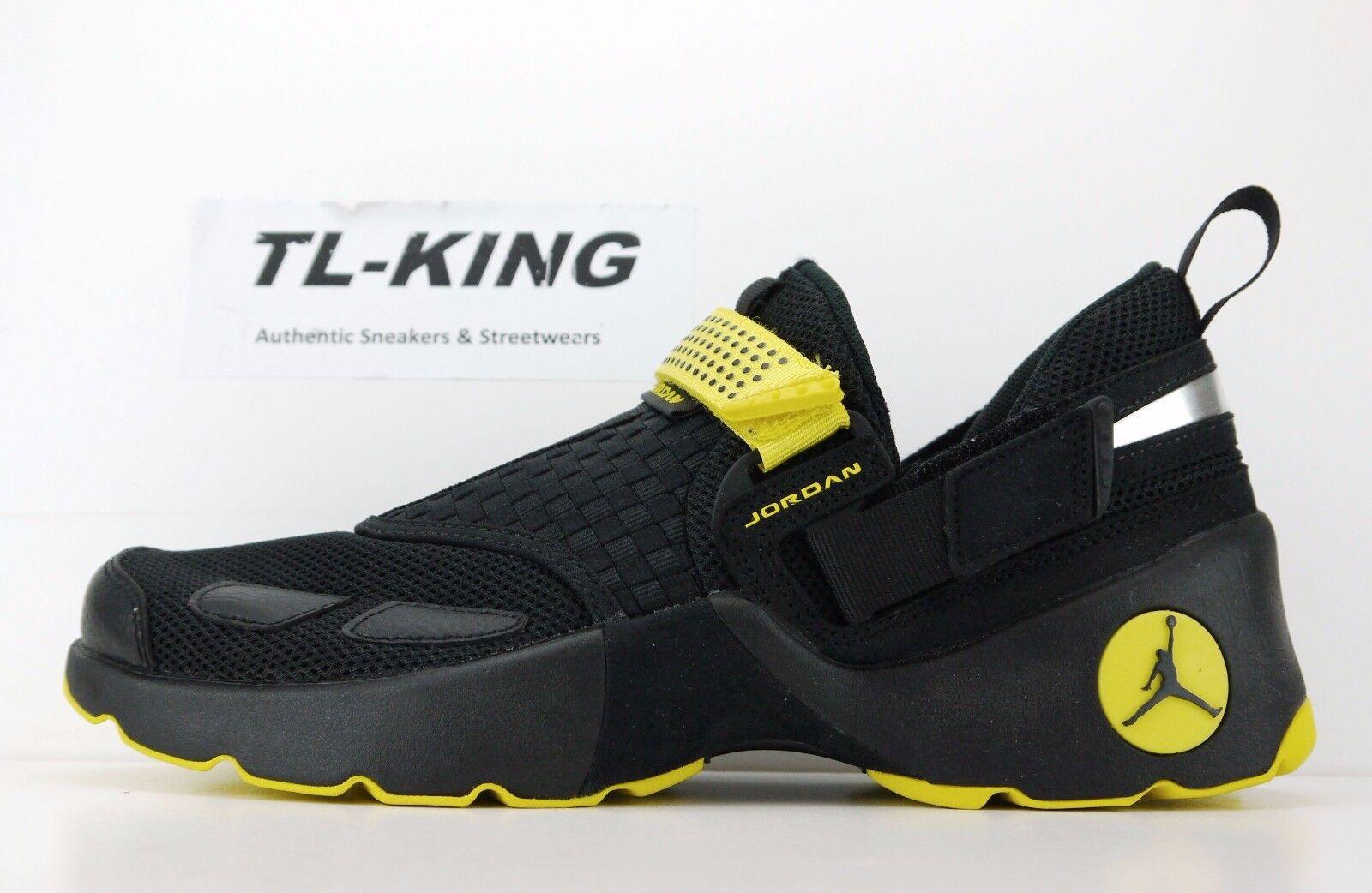 Nike Air Jordan Trunner LX Thunder Black Opti Yellow 897992-031 Msrp  Gp