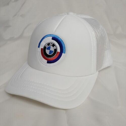 BMW MOTORSPORT HERITAGE CAP 80162445950 NEW Classic five-panel trucker cap